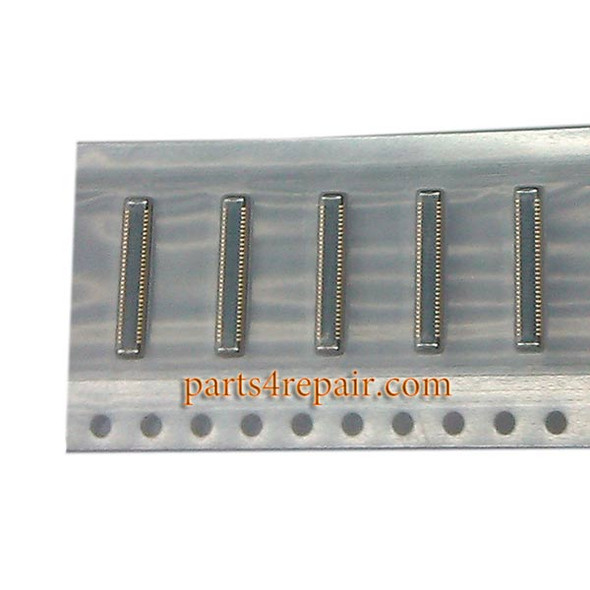 60pin LCD FPC Connectors for Samsung Galaxy Note 4 -5pcs