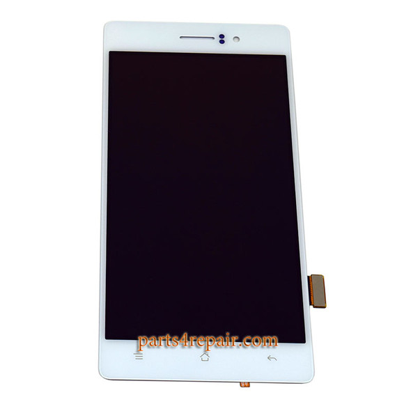 Complete Screen Assembly for Oppo R5 from www.parts4repair.com