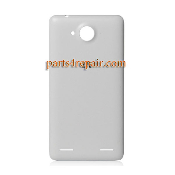 Back Cover for ZTE Redbull V5 V9180 -White from www.parts4repair.com