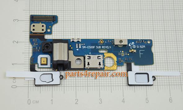 Dock Charging PCB Board for Samsung Galaxy E5 SM-E500F from www.parts4repair.com