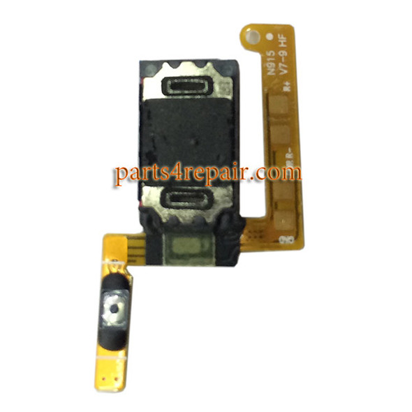 Earpiece Speaker Flex Cable for Samsung Galaxy Note Edge from www.parts4repair.com