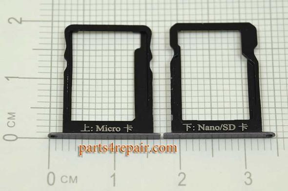 Micro SIM Tray & Nano/SD Card Tray for Huawei Ascend Mate 7