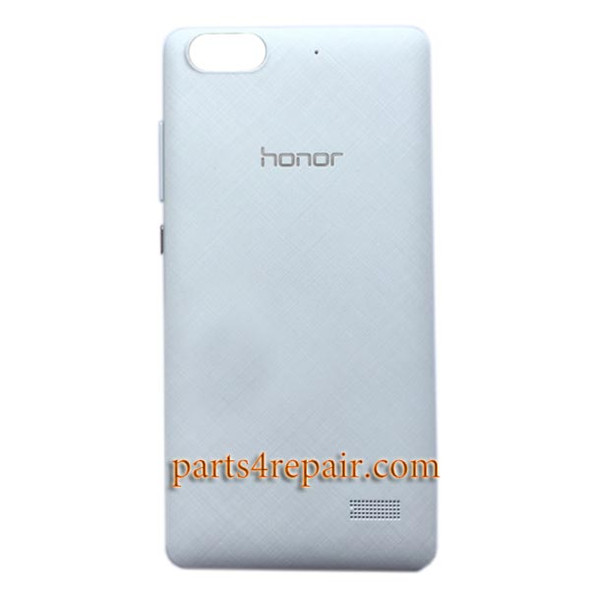 Back Cover with Side Keys for Huawei Honor 4C from www.parts4repair.com