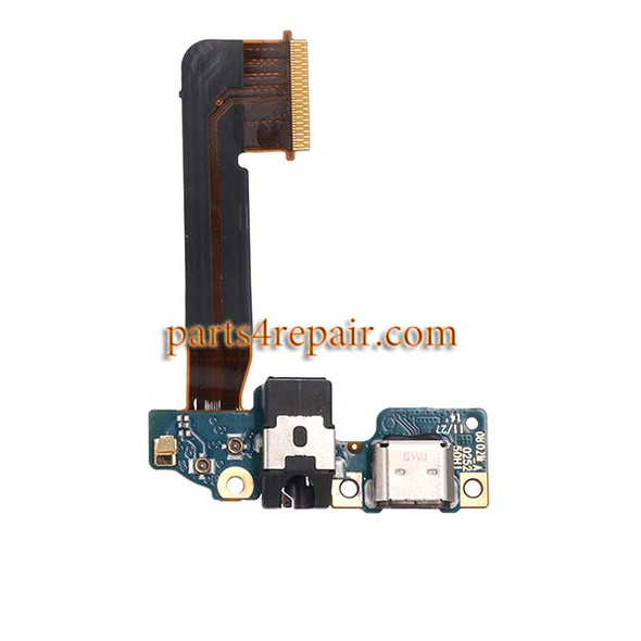 Dock Charging Flex Cable for HTC One M9 from www.parts4repair.com