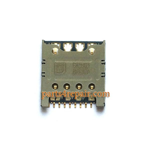 SIM Card Reader for ZTE Z7 Max NX505J from www.parts4repair.com