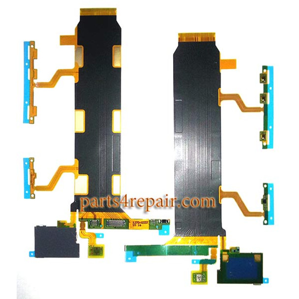 Flex Cable for Sony Xperia Z Ultra XL39 4G from www.parts4repair.com