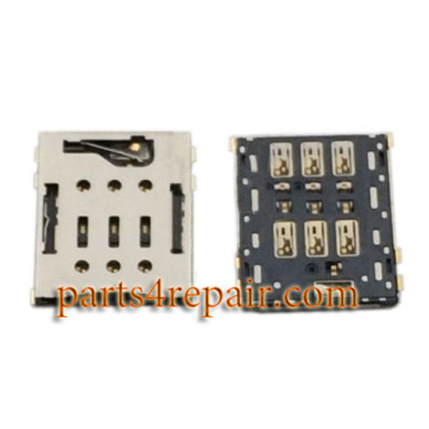 Single SIM Card Reader for Sony Xperia C5 Ultra from www.parts4repair.com