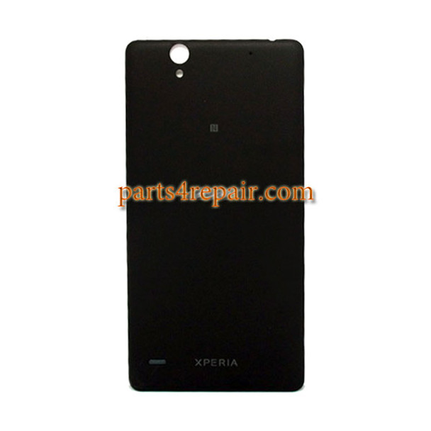 Back Cover with NFC for Sony Xperia C4 -Black