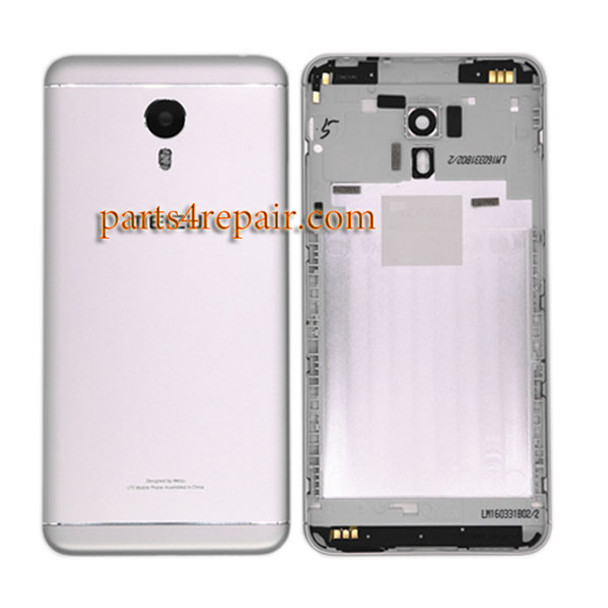 Back Housing with Side Keys for Meizu M3 Note from www.parts4repair.com