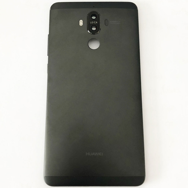 Back Housing + Side Keys + Camera Lens for Huawei Mate 9 Black