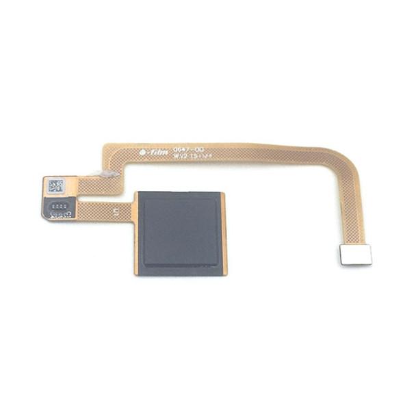 Fingerprint Sensor Flex Cable for Xiaomi Mi Max 2 Black Front View