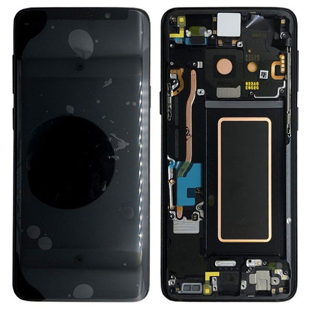 Samsung Galaxy S9+ LCD Screen and Digitizer Assembly with Bezel