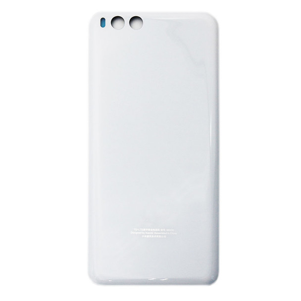 Back Glass Cover for Xiaomi Mi Note 3 -White