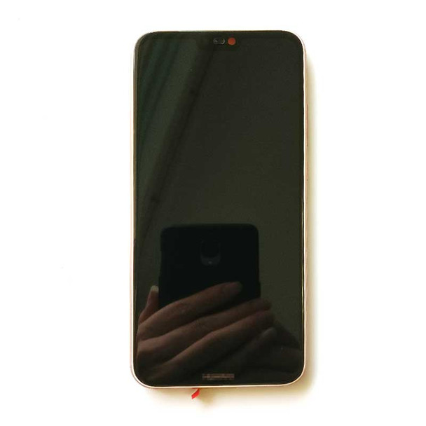 Huawei P20 Lite Screen Assembly with Frame Pink   Parts4Repair.com