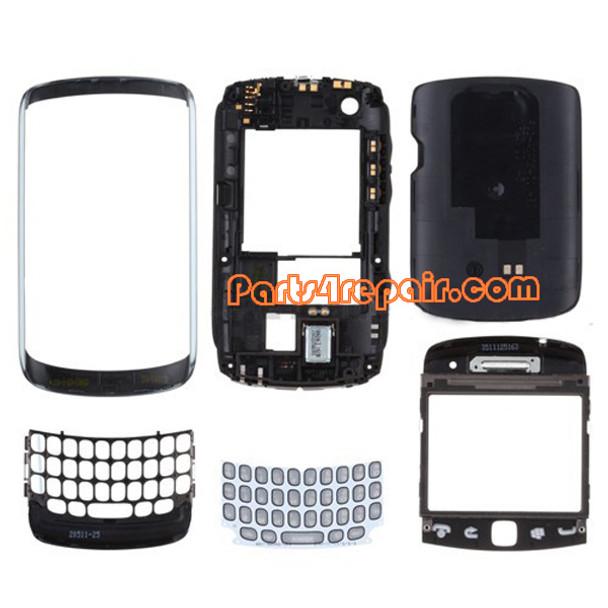 Full Houing Cover for BlackBerry Curve 9360