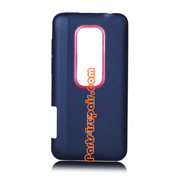 HTC EVO 3D Back Cover -Blue from www.parts4repair.com