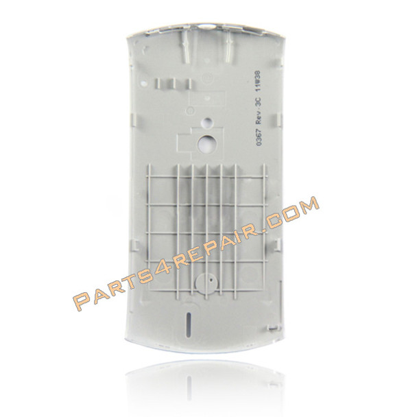 Sony Ericsson Xperia Neo V Back Cover -Silver from www.parts4repair.com