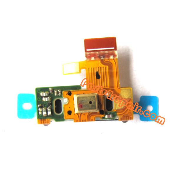Motorola RAZR XT910 Earpiece Speaker Flex Cable from www.parts4repair.com