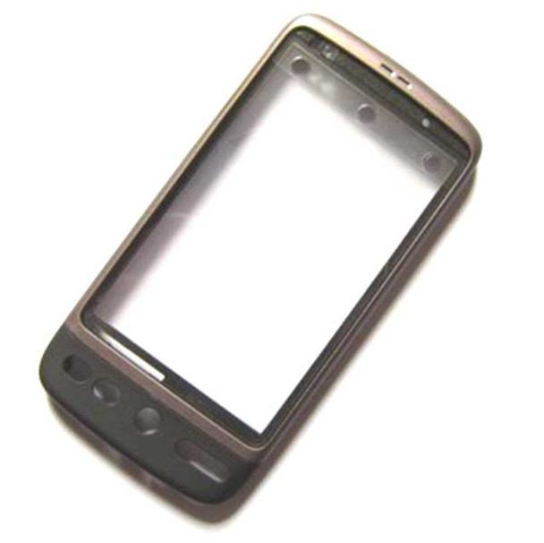 HTC Desire Front Cover -Black from www.parts4repair.com
