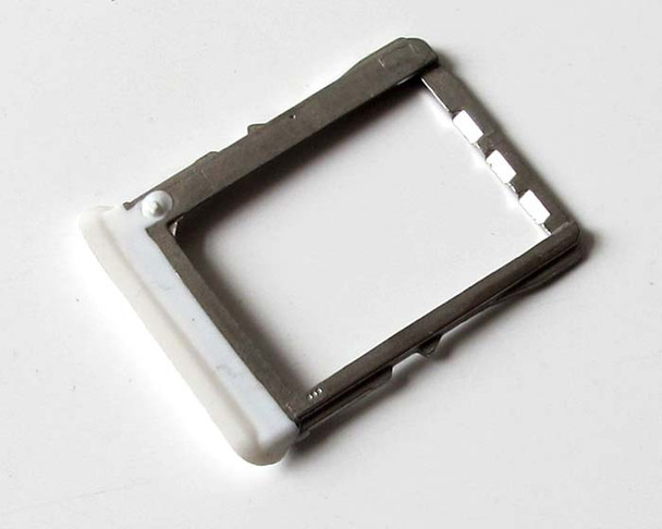 HTC One X SIM Tray -White from www.parts4repair.com