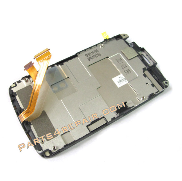 Complete Screen Assembly with Bezel for HTC Desire S G12(Narrow) -Used