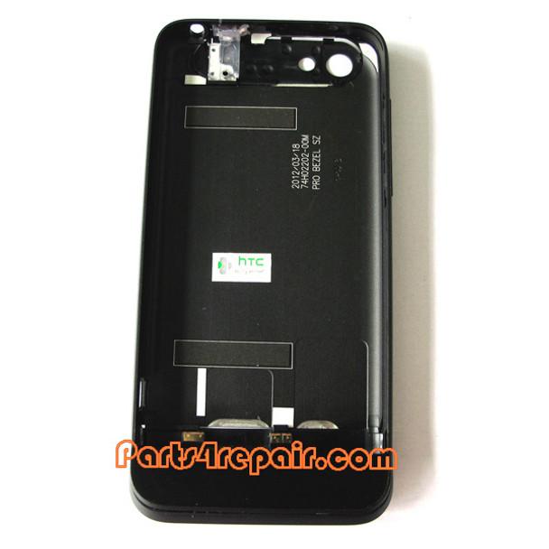 Back Housing Cover Assembly for HTC One V -Black