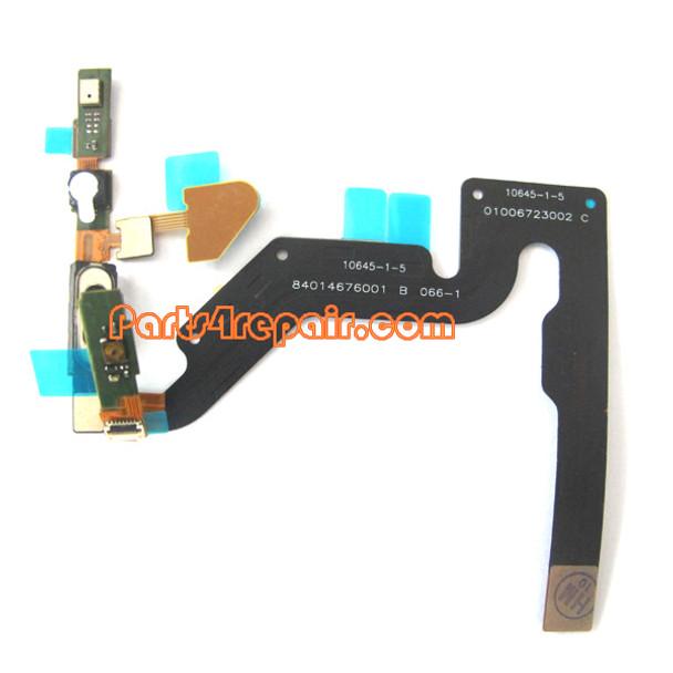Motorola Atrix 4G MB860 Earpiece Speaker Flex Cable Ribbon from www.parts4repair.com