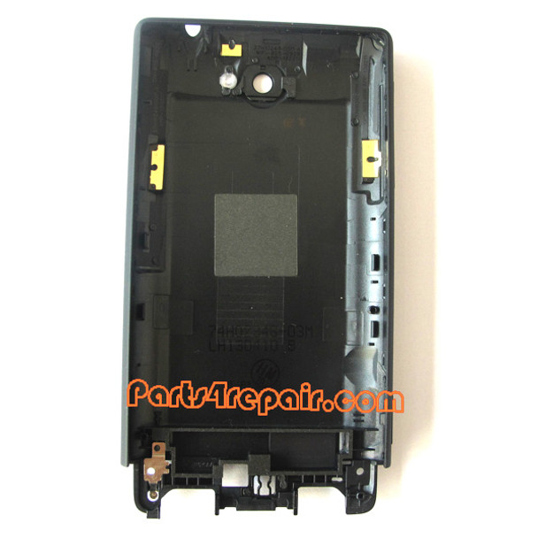 Battery Cover for HTC Windows Phone 8S -Black