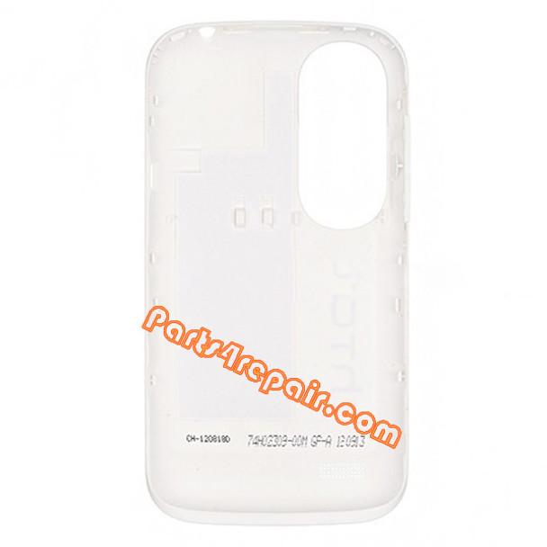 Back Cover for HTC Desire X T328E -White