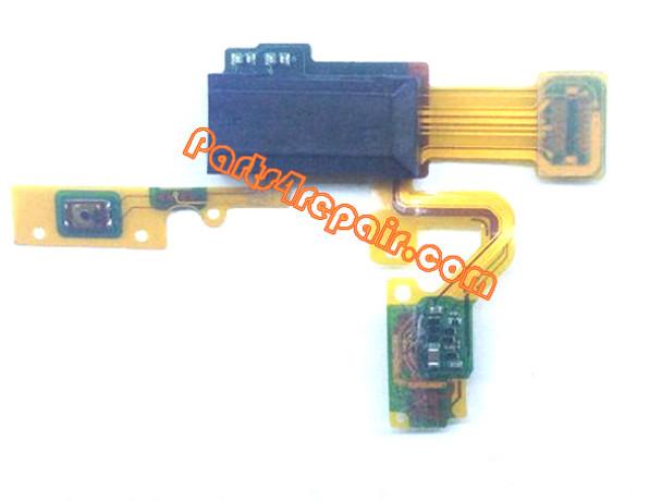Sensor Flex Cable for BlackBerry Z10 from www.parts4repair.com