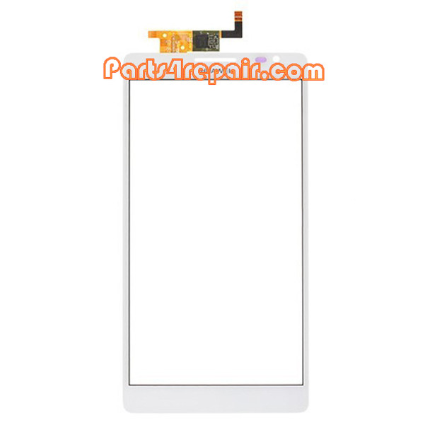Touch Screen Digitizer for Huawei Ascend Mate MT1-U06 -White from www.parts4repair.com