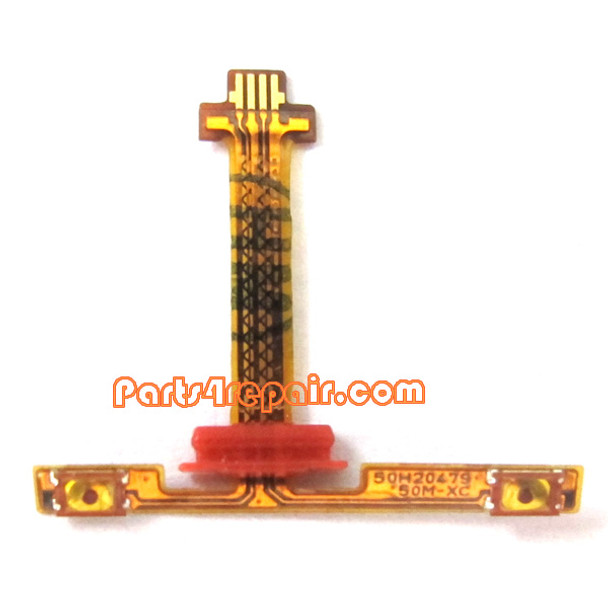Volume Flex Cable for HTC Butterfly X920E from www.parts4repair.com