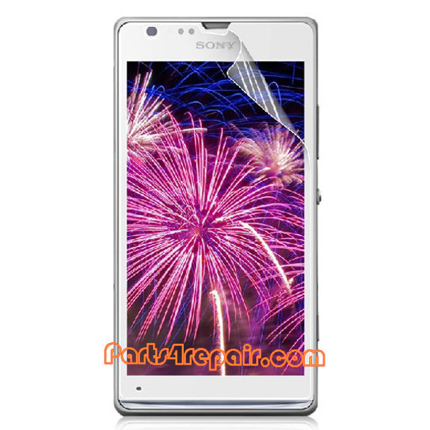 Clear Screen Protector Shield Film for Sony Xperia SP M35H