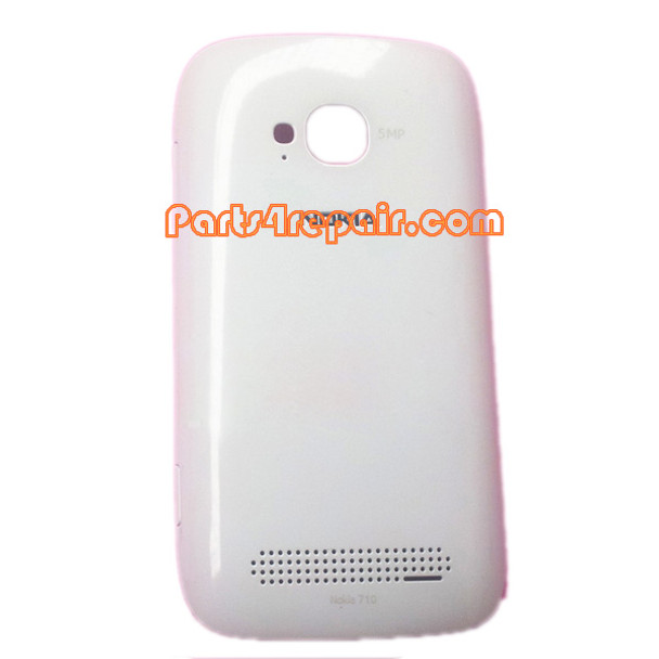 Back Cover for Nokia Lumia 710 -White from www.parts4repair.com