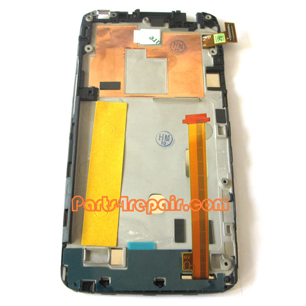 Complete Screen Assembly with Bezel for HTC One XL