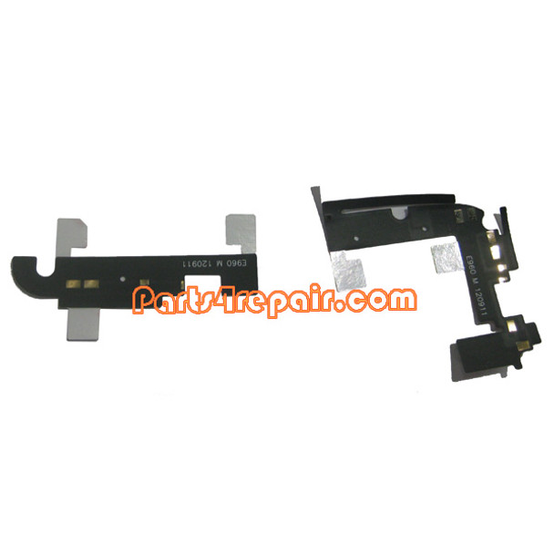 WIFI & Bluetooth Cable for LG Nexus 4 E960 from www.parts4repair.com