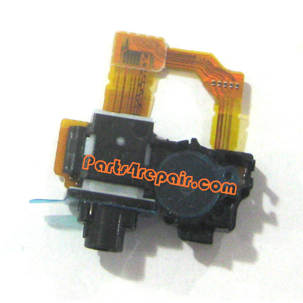 Earphone Jack Flex Cable for Sony Xperia Z1 L39H from www.parts4repair.com