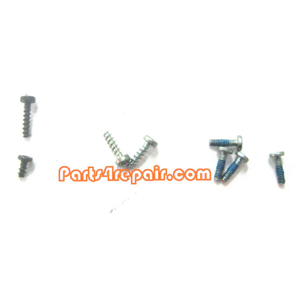 a full set of Screws for Nokia N8 from www.parts4repair.com