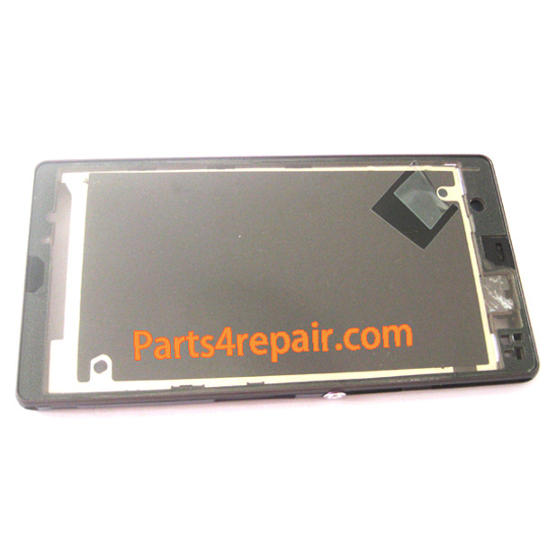 Front Housing Cover for Sony Xperia Z L36H -Purple