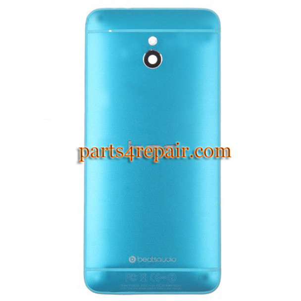 Back Cover for HTC One mini -Blue from www.parts4repair.com