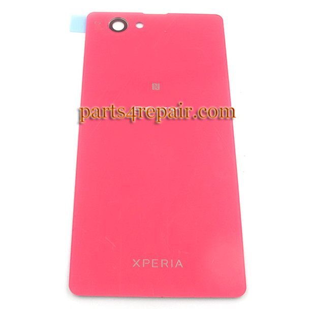 Generic Back Cover for Sony Xperia Z1 Compact mini -Pink (Plastic)