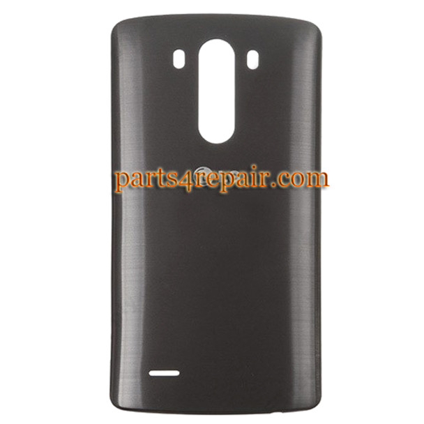 Back Cover for LG G3 D855 (for Europe) -Black from www.parts4repair.com
