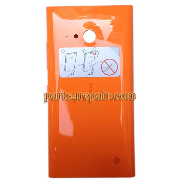 Back Cover with Wireless Charging Coil for Nokia Lumia 730 from www.parts4repair.com