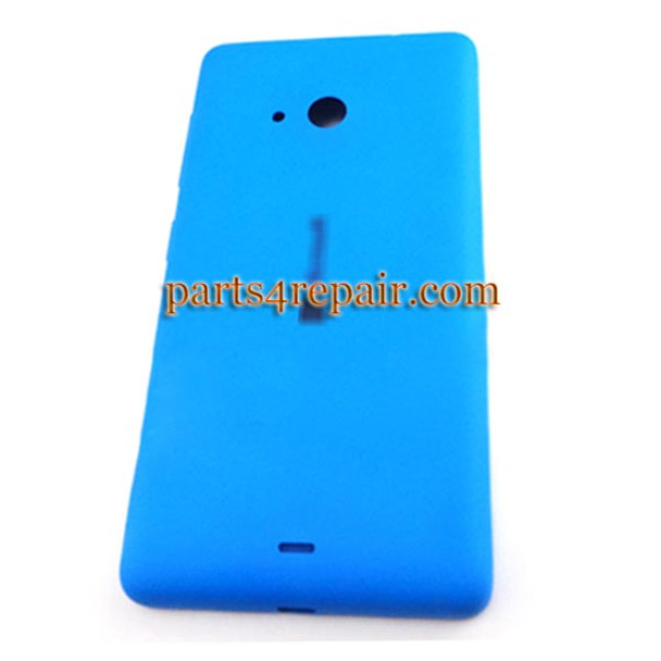 Back Cover with Side Keys for Microsoft Lumia 535 -Blue (Smooth and Bright) from www.parts4repair.com