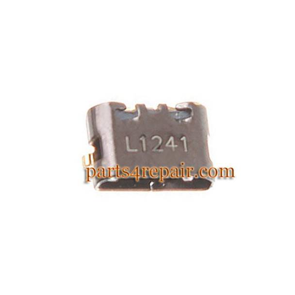 you can find dock charging port for Motorola Nexus 6 in www.parts4repair.com