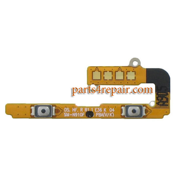 Volume Flex Cable for Samsung Galaxy Note 4 from www.parts4repair.com