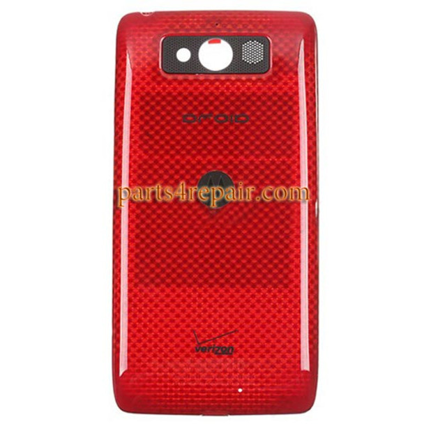 Back Housing Cover for Motorola DROID mini XT1030 -Red