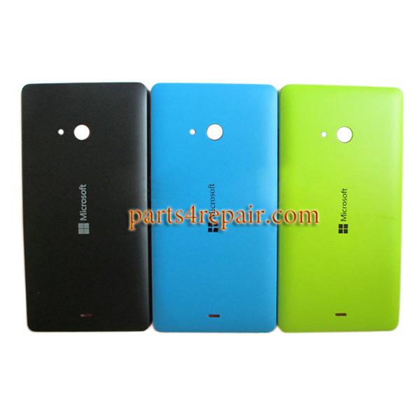 size 40 db727 8822e Back Cover with Side Keys for Microsoft Lumia 540 Dual SIM -Blue