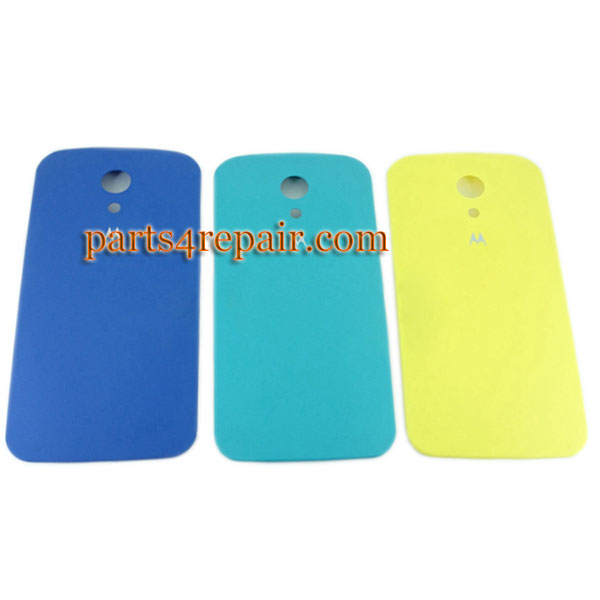 new concept 44121 9d6f9 Back Cover for Motorola Moto G2 XT1068 -Yellow