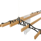 Cast In Style Victorian 5-slat ceiling-mounted clothes dryer
